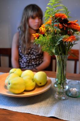 Hösten färg och frukt