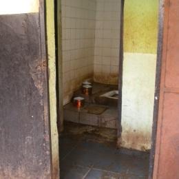 Toaletten på färjeterminalen